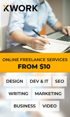 Kwork.com - freelancers' services from $10